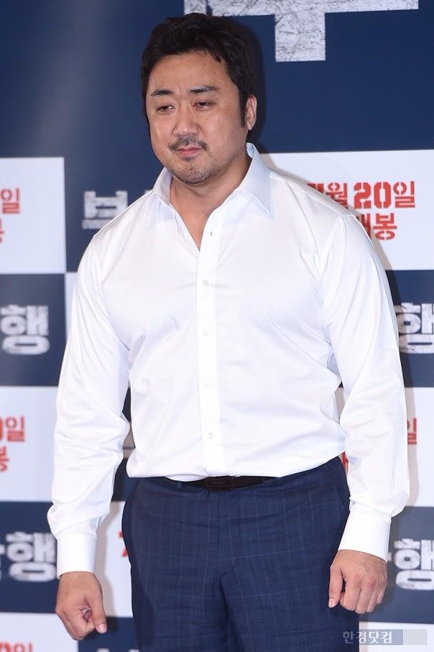 '부산행' 마동석 / 사진 = 최혁 기자