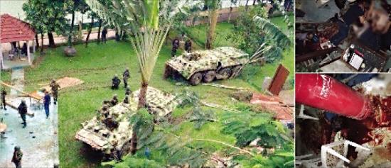 IS가 공개한 방글라데시 테러 현장