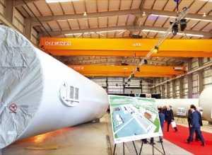 씨에스윈드 영국 공장, 한 달 만에 흑자전환…유럽 풍력시장 '접수'