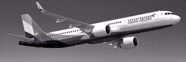 에어버스의 A321네오 기종