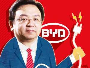 중국 BYD 왕촨푸 회장, 테슬라보다 전기자동차 많이 팔았다