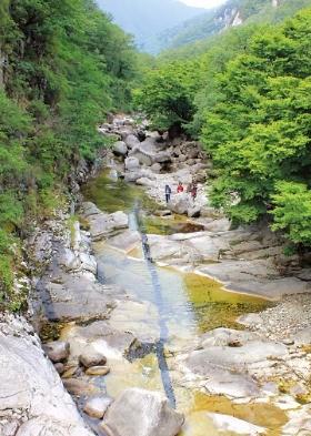 강원 동해 무릉계곡