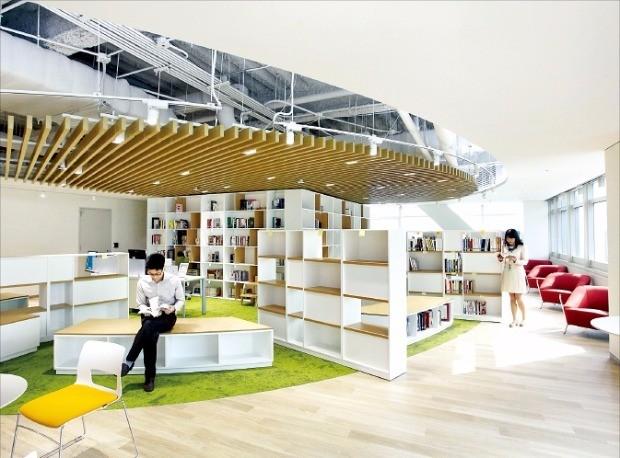 서울 GS타워 27층에 있는 GS칼텍스의 열린 소통공간 '지음'
