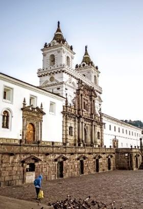 남아메리카 대륙에서 가장 오래된 성당인 성 프란시스코 대성당