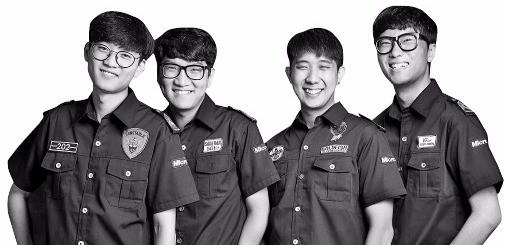 한국대표로 출전하는 한양대 '스튜디오 애틱'팀. 왼쪽부터 전지훈, 황교준, 육현수, 안상열 씨.