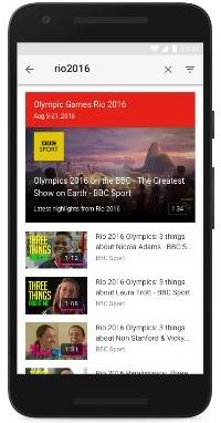 영국 BBC가 유튜브에서 운영하는 리우올림픽 공식 채널. / 사진=유튜브 한국 블로그