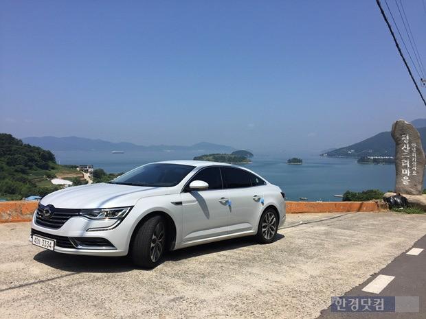 전국에 폭염이 이어진 지난 6일 SM6 1.5 디젤 차량을 타고 남해 해안도로를 달렸다. (사진=한경닷컴)