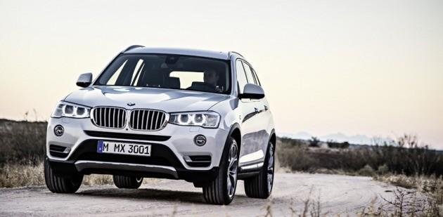 이달 19일부터 국내 리콜 서비스를 진행하는 BMW X3 차량. (사진=BMW)