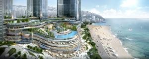 [엘시티 더 레지던스③구성]레스토랑·워터파크·전망대 등 복합리조트 시설