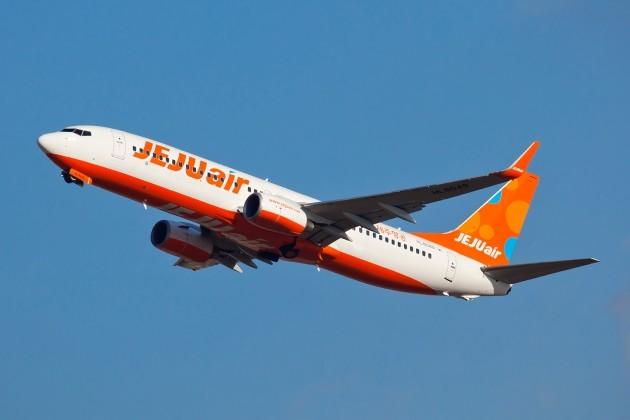 제주항공이 운행 중인 B737-800 항공기