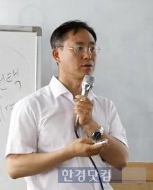 한국통합물류협회 주최 진로탐색 세미나에서 강연하는 김대종 교수. / 세종대 제공