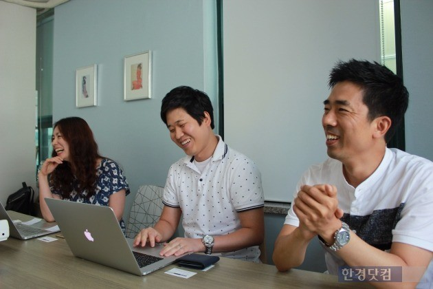 김형배 팀장(가운데)은