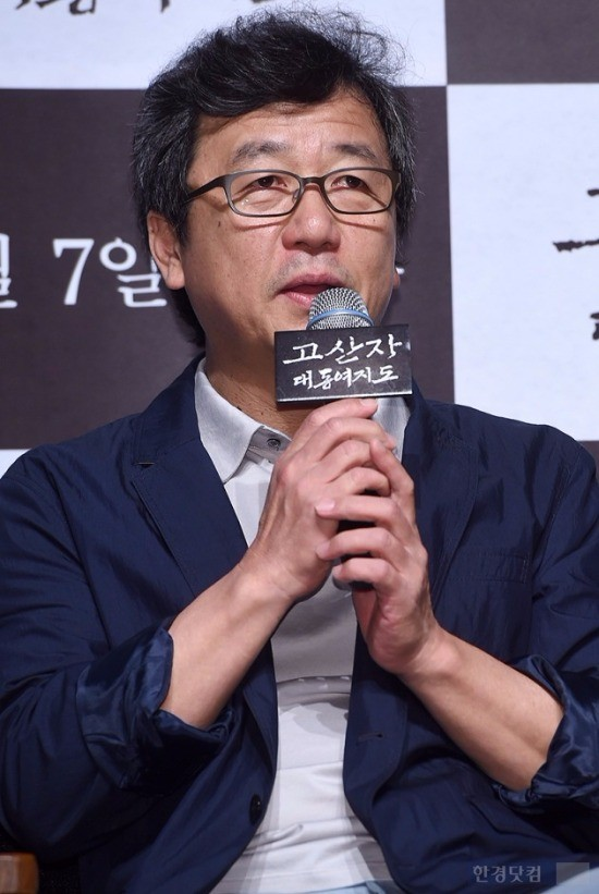 '고산자, 대동여지도' 강우석 감독 / 사진 = 최혁 기자