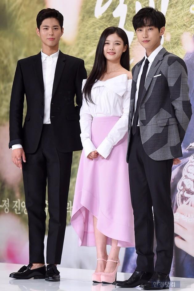 '구르미 그린 달빛' 박보검(왼쪽부터), 김유정, 김윤성 /사진=최혁 기자