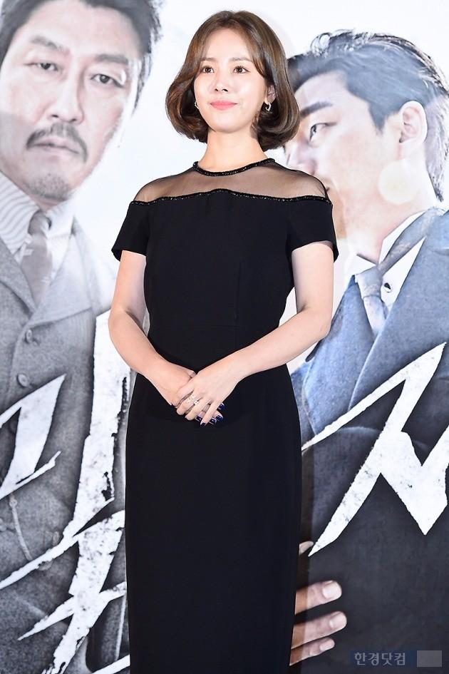 '밀정' 한지민 / 사진 = 변성현 기자