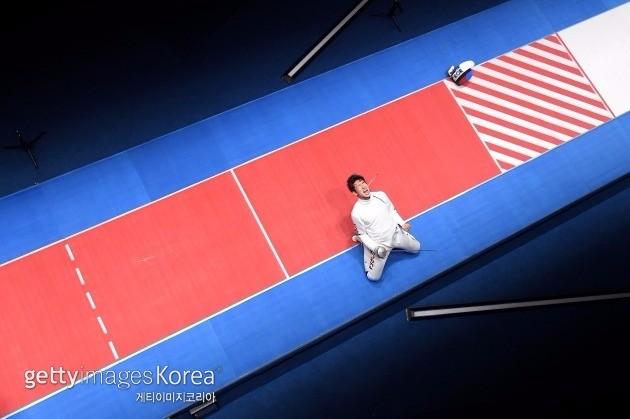 박상영 ⓒ gettyimages/이매진스