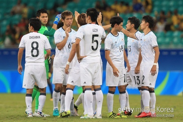 일본 축구 대표팀 ⓒ gettyimages/이매진스
