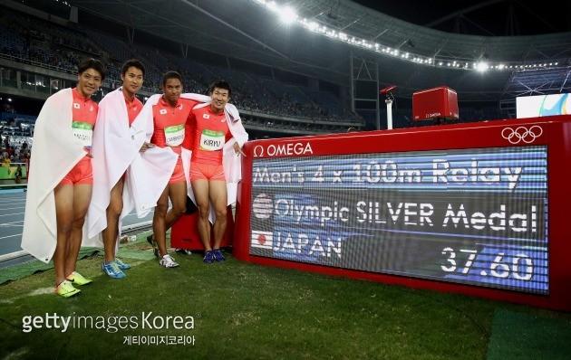 일본 육상 대표팀 ⓒ gettyimages/이매진스