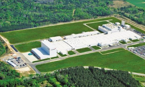 지난 5월 완공된 금호타이어 미국 조지아공장.