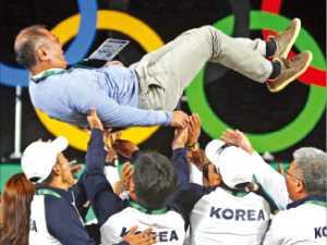 정몽구 회장의 '32년 양궁 열정', 올림픽 금메달 23개…새 역사 쐈다