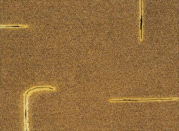 고 신성희 화백이 1974년 작업을 시작해 1982년에 완성한 '회화'. 현대화랑 제공