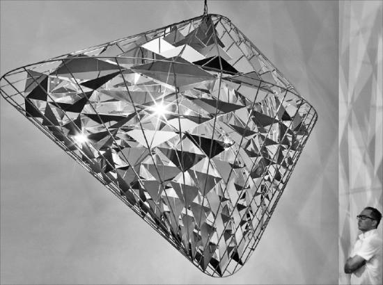 오는 9월29일 삼성미술관 리움에서 개인전을 여는 덴마크 설치작가 올라퍼르 엘리아손의 2016년작 '사라지는 시간의 형상'. 리움 제공