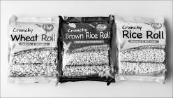 현지에 맞게 포장을 바꾼 쌀과자.