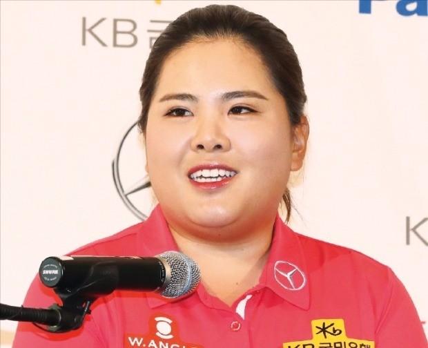 리우올림픽 여자 골프 금메달리스트 박인비가 29일 열린 기자회견에서 소감을 말하고 있다. 연합뉴스