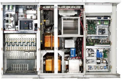 GE가 개발한 1500V 태양광 인버터. GE 제공