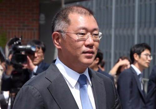 정의선 부회장. 연합뉴스