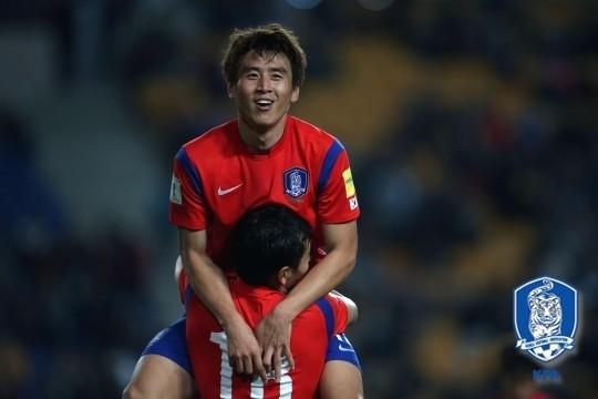 한국과 중국의 월드컵예선 선발 출전이 유력한 구자철. 대한축구협회 제공