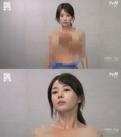 'SNL 코리아 시즌8' 이수민 가슴춤