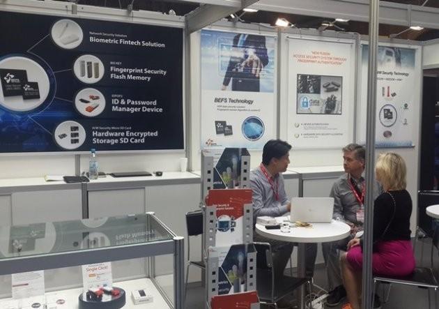 베프스가 독일 베를린에서 열리고 있는 '국제가전박람회(IFA) 글로벌 마켓 2016'에 참가해 신제품을 공개했다./ 제공 캠시스