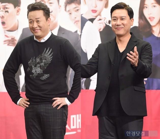 '미스매치' 정준하-이상민 / 사진 = 변성현 기자