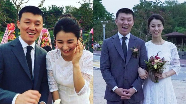 김민재 최유라 결혼 / 씨제스 제공