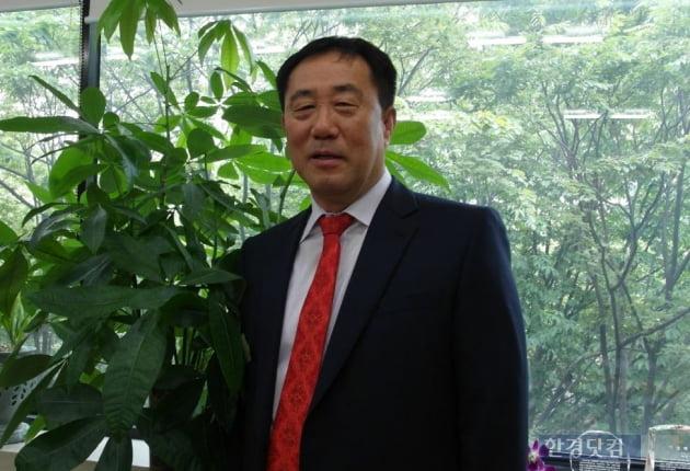 변우택 고덕 그라시움 조합장(사진 김하나 기자)