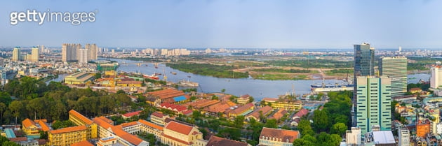 베트남 경제중심 도시로 꼽히는 호치민시 모습. <사진=게티 이미지>