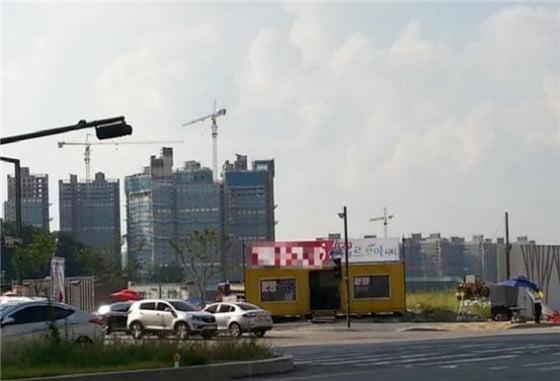 유동인구와 임대수요가 풍부한 '1+1 역세권' 오피스텔이 각광을 받고 있다. 사진은 동탄역 인근 오피스텔 현장
