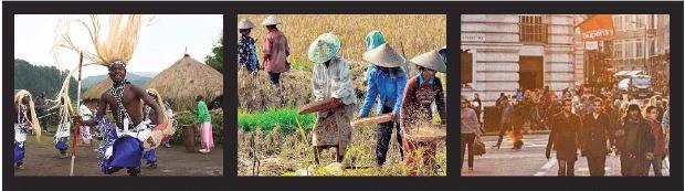 문명사학자 이언 모리스는 인류 발전 과정을 에너지 획득 방식에 따라 수렵채집, 농경, 화석연료의 연속적 3단계로 나누고, 각 방식이 그 시대의 가치관을 결정했다고 주장했다. 반니 제공