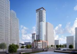 [방배 마에스트로①규모]4·7호선 이수역세권, 163가구 소형 아파트+오피스텔