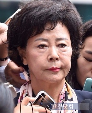 신영자 롯데장학재단 이사장(사진=변성현 한경닷컴 기자)