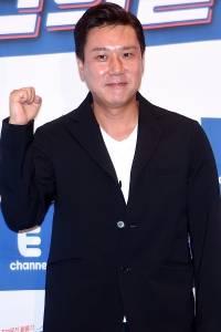 [HEI포토] 이상민, '대박 기원하며 화이팅'