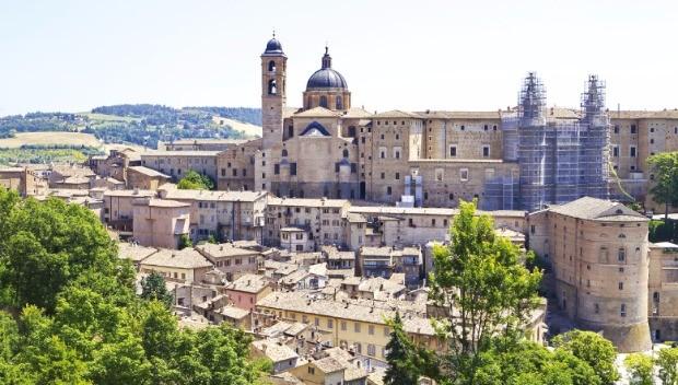 우르비노는 이탈리아 르네상스를 견인한 도시다.