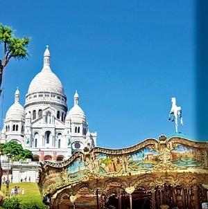 프랑스 파리의 사크레 쾨르 대성당