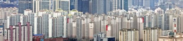 개포동 아파트 가격이 처음으로 대치동을 앞질렀다. 대치동 아파트촌 전경. 한경DB