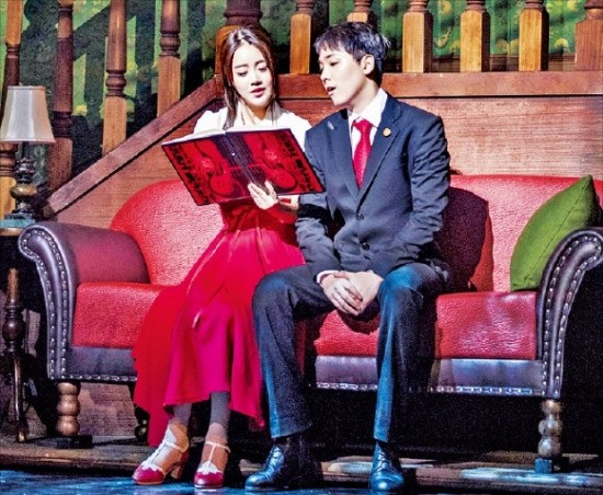 오는 11월3일까지 서울 흥인동 충무아트센터 대극장에서 공연하는 창작뮤지컬 '그날들'.