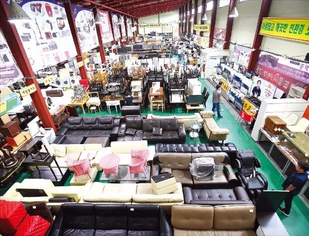 1만여점의 다양한 상품을 판매하는 용인 본사 매장. 리마켓 제공