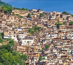 브라질 리우데자네이루 빈민가