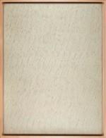 박서보의 1981년작 '묘법 № 1~81'.