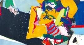 국제갤러리의 최욱경 개인전에 출품된 1966년작 '화난 여인'.